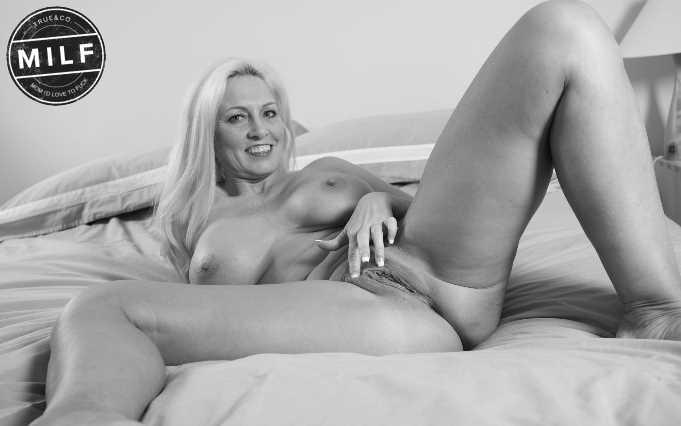 Blonde MILF treffen